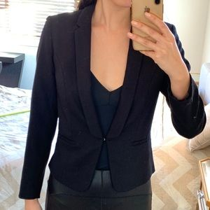 H&M black short Blazer
